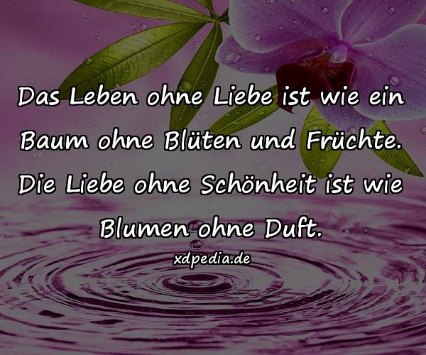 Das Leben ohne Liebe ist wie ein Baum - xdPedia.de (815)