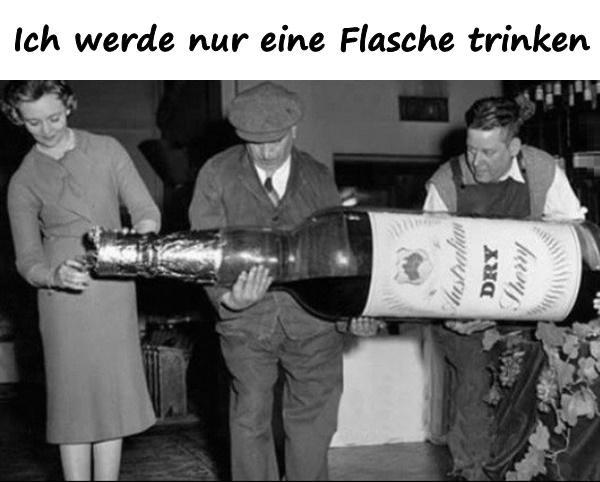 Ich werde nur eine Flasche trinken - xdPedia.de (5252)