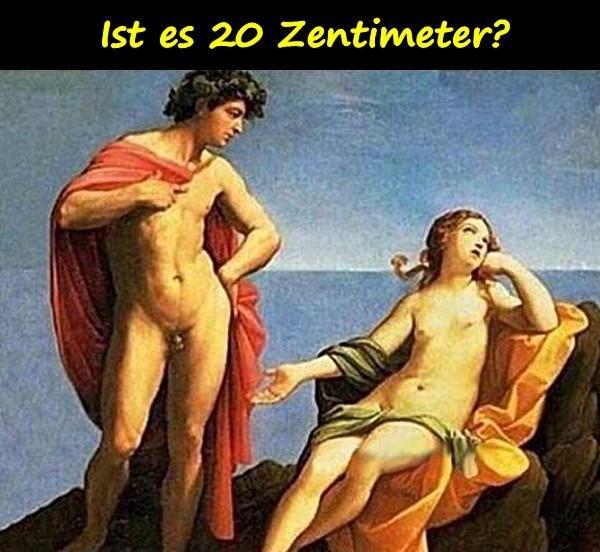 Penis 20 zentimeter Schwieger Milf