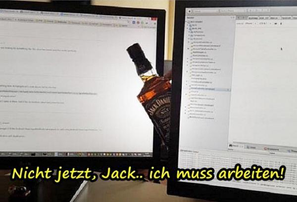 Nicht jetzt, Jack.. ich muss arbeiten - xdPedia.de (311)