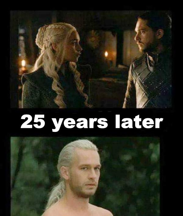 25 years later