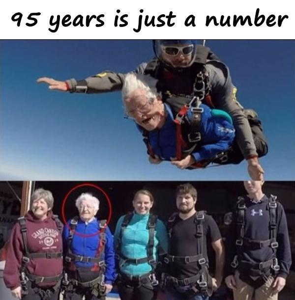 95 years is just a number