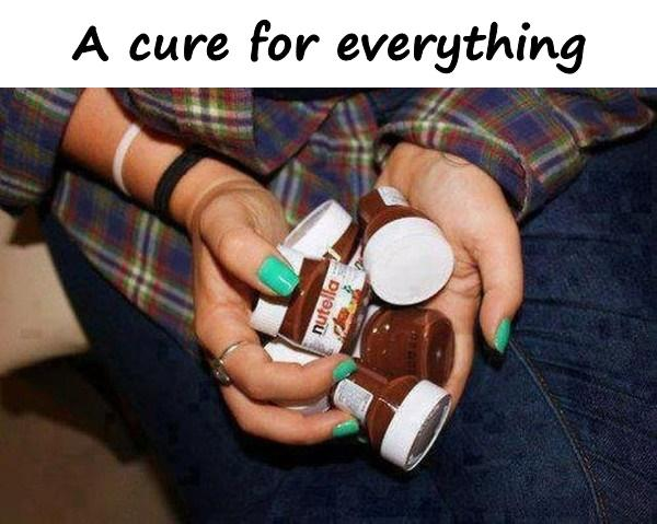 A cure for everything