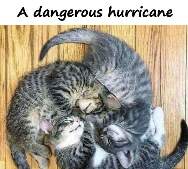 A dangerous hurricane