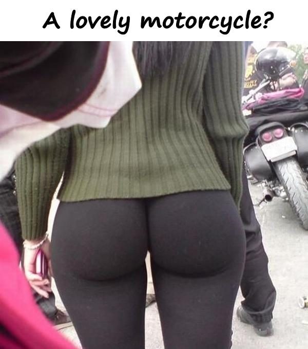 A lovely motorcycle?