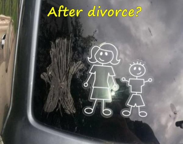 After divorce?