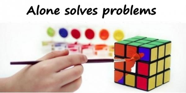Alone solves problems