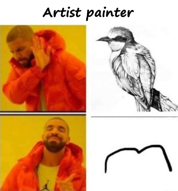 Artist painter