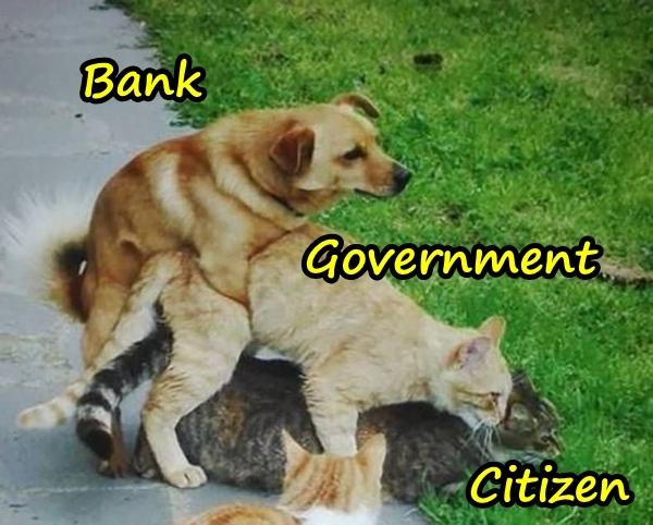 Bank, Government and Citizen