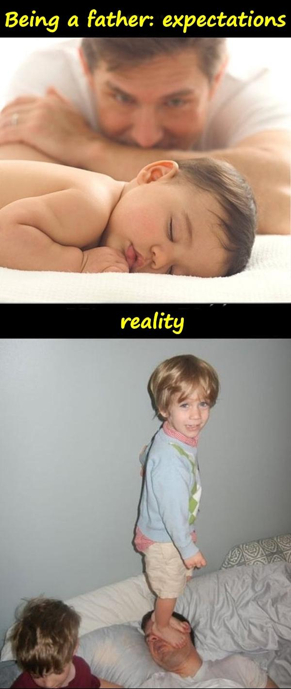 Being a father: expectations and reality