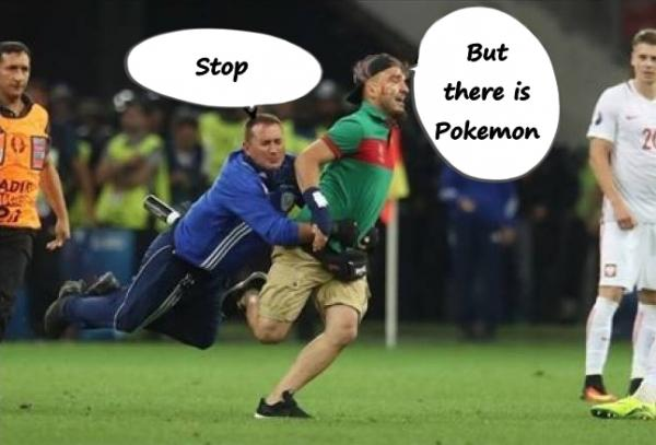 - Stop - But there is Pokemon
