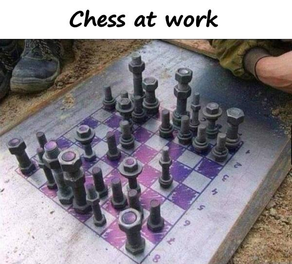 Chess at work