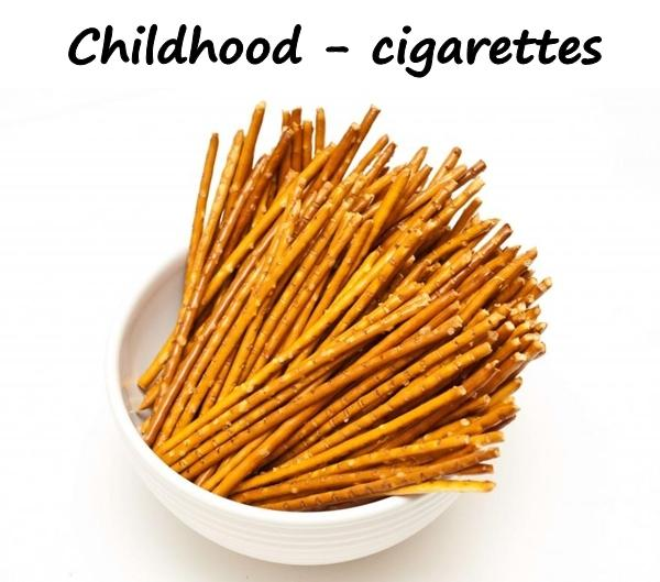 Childhood - cigarettes