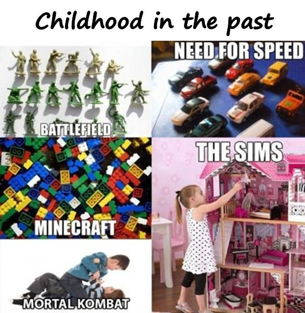 Childhood in the past