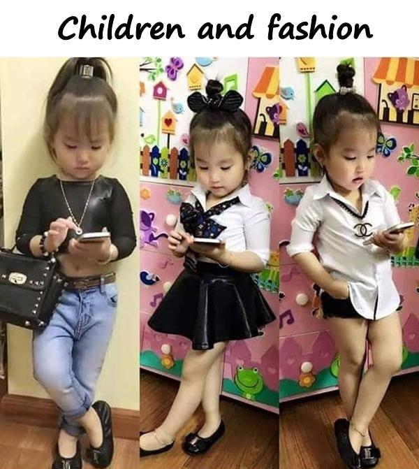 Children and fashion