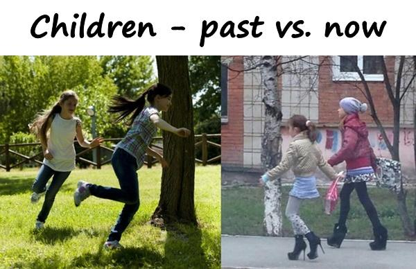 Children - past vs. now