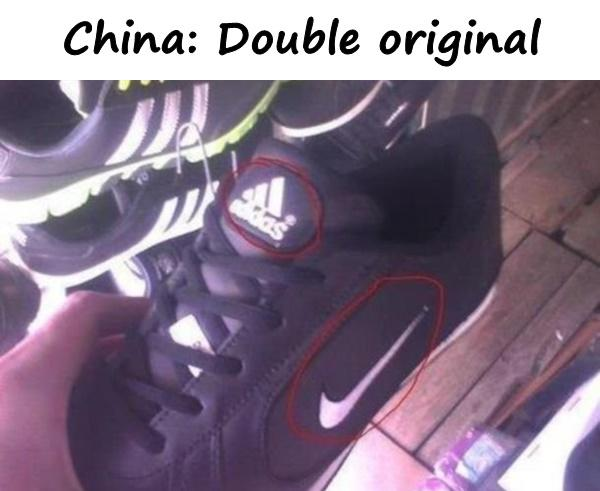 China: Double original