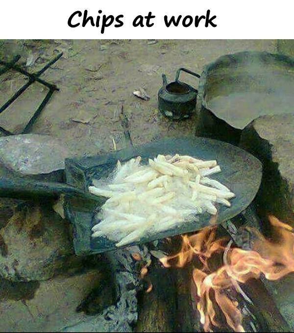 Chips at work