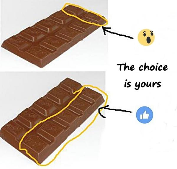 Chocolate - The choice is yours
