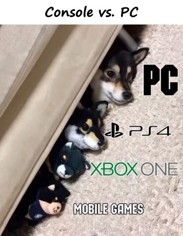 Console vs. PC