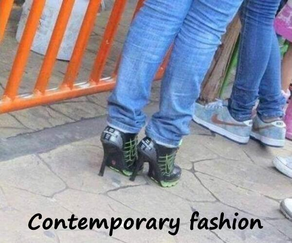 Contemporary fashion