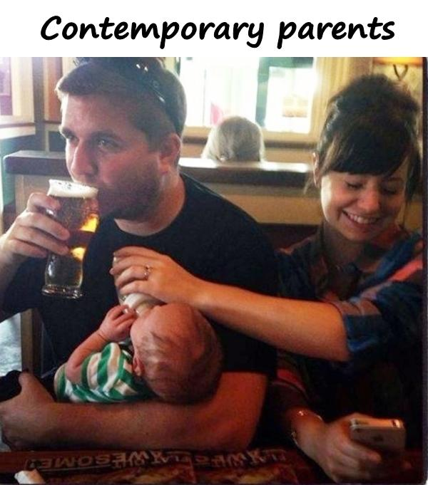 Contemporary parents
