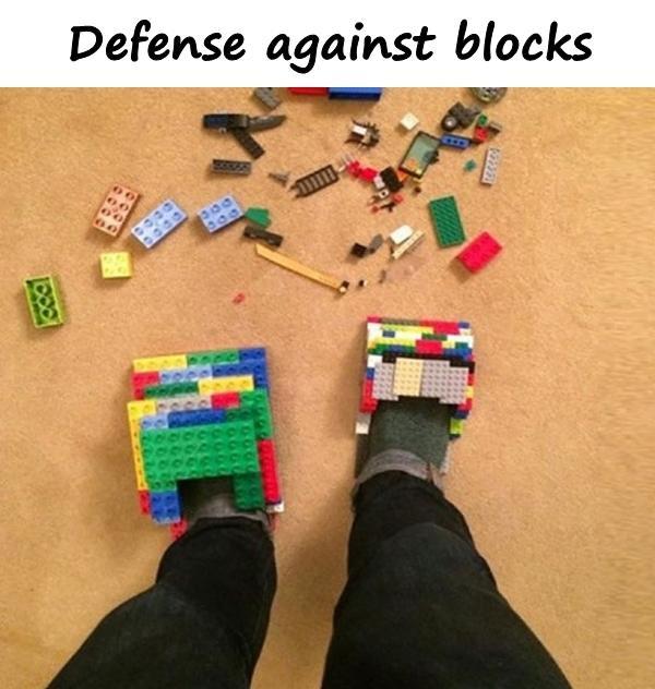 Defense against blocks