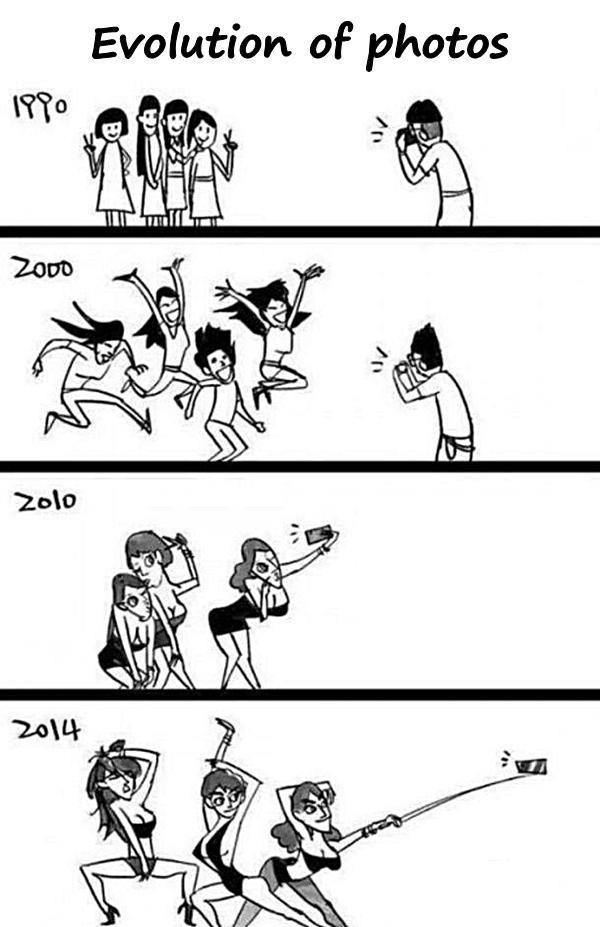Evolution of photos