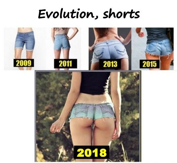Evolution, shorts