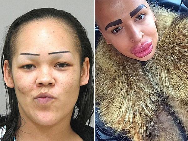 Eyebrows That Should Have Never Happened