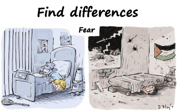 Fear - Find differences