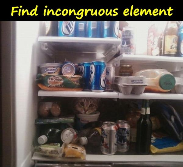 Find incongruous element