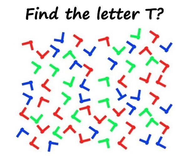 Find the letter T?