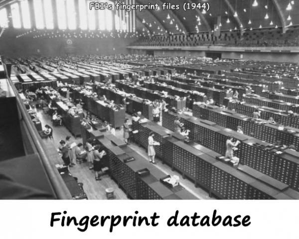 Fingerprint database