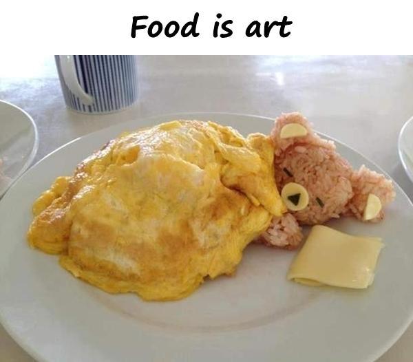 Food is art