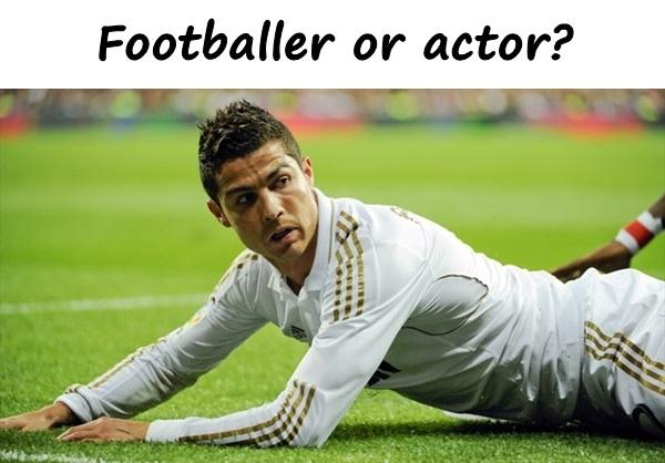 Footballer or actor?
