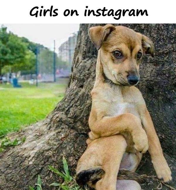 Girls on instagram