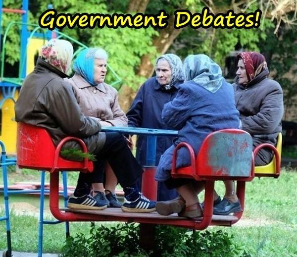 Government Debates!