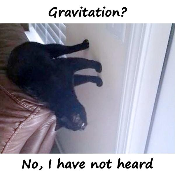 Gravitation? No, I have not heard