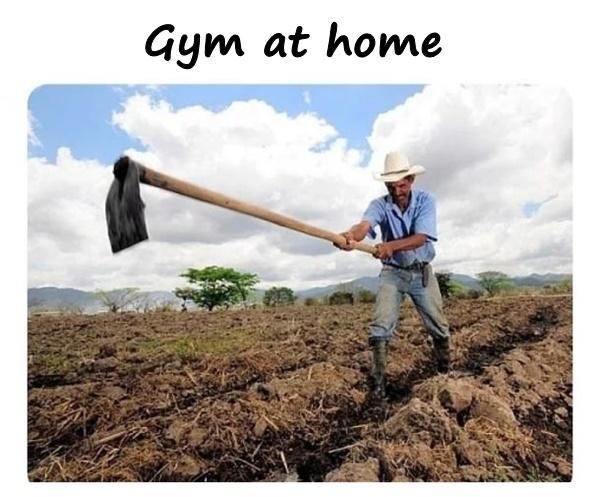 Gym at home
