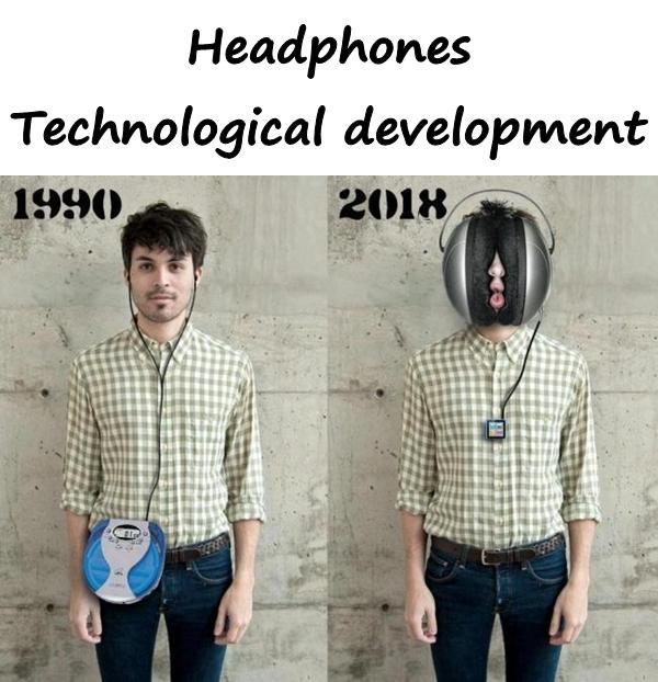 Headphones - technological development