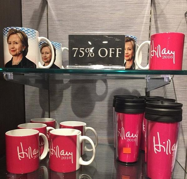 Hillary on sale