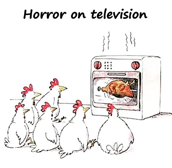 Horror on television