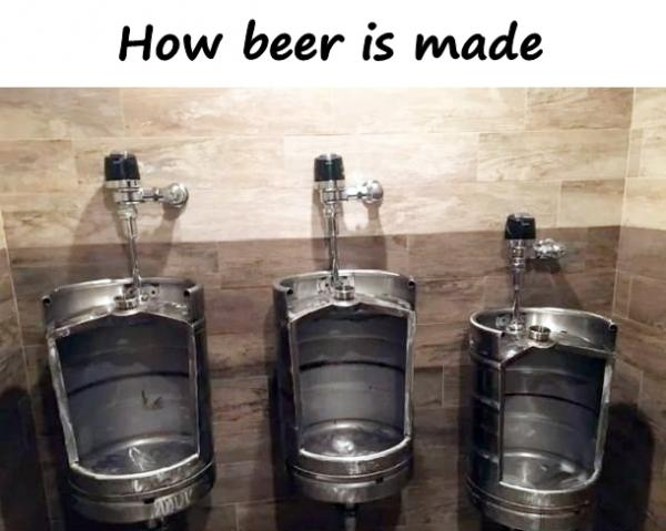 How beer is made
