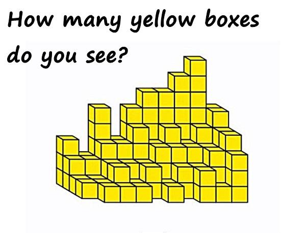How many yellow boxes do you see?