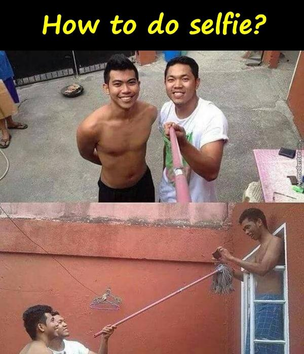 How to do selfie?