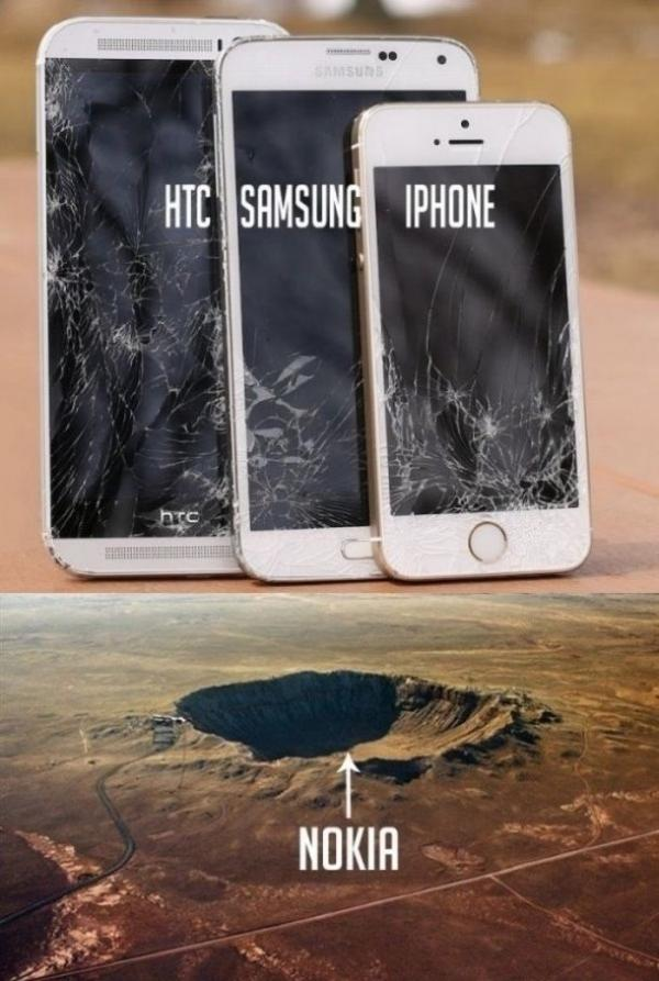 HTC, SAMSUNG, IPHONE and NOKIA