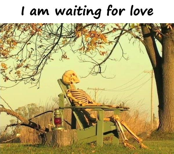 I am waiting for love