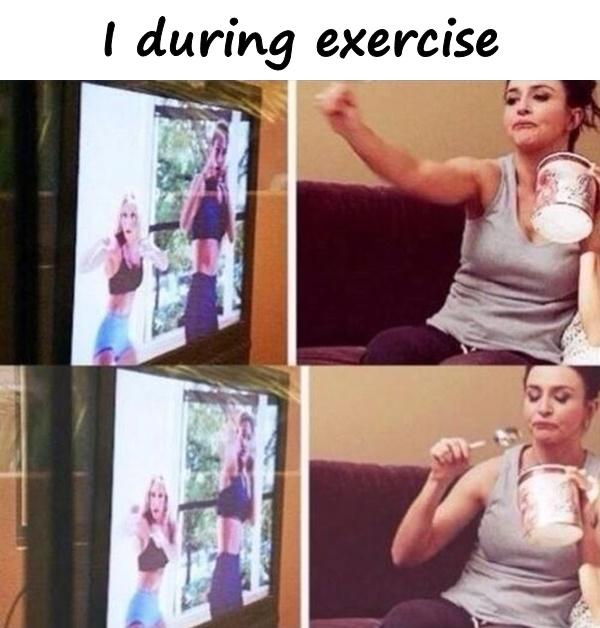 I during exercise