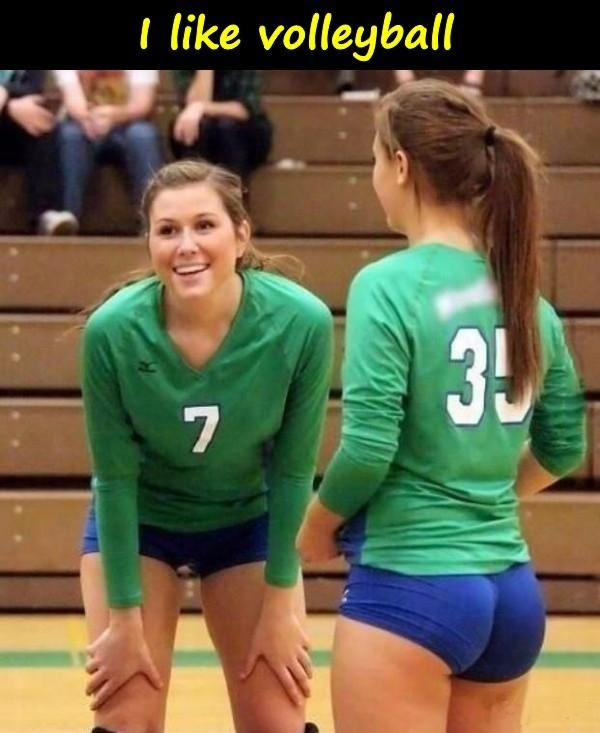 I like volleyball